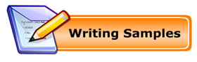Writing Samples Button - Click to see our writing samples.